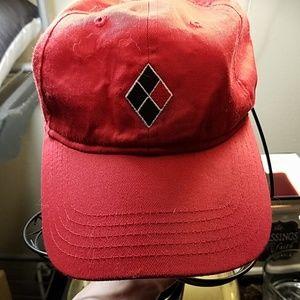 NWOT: Red Harley Quinn baseball Hat